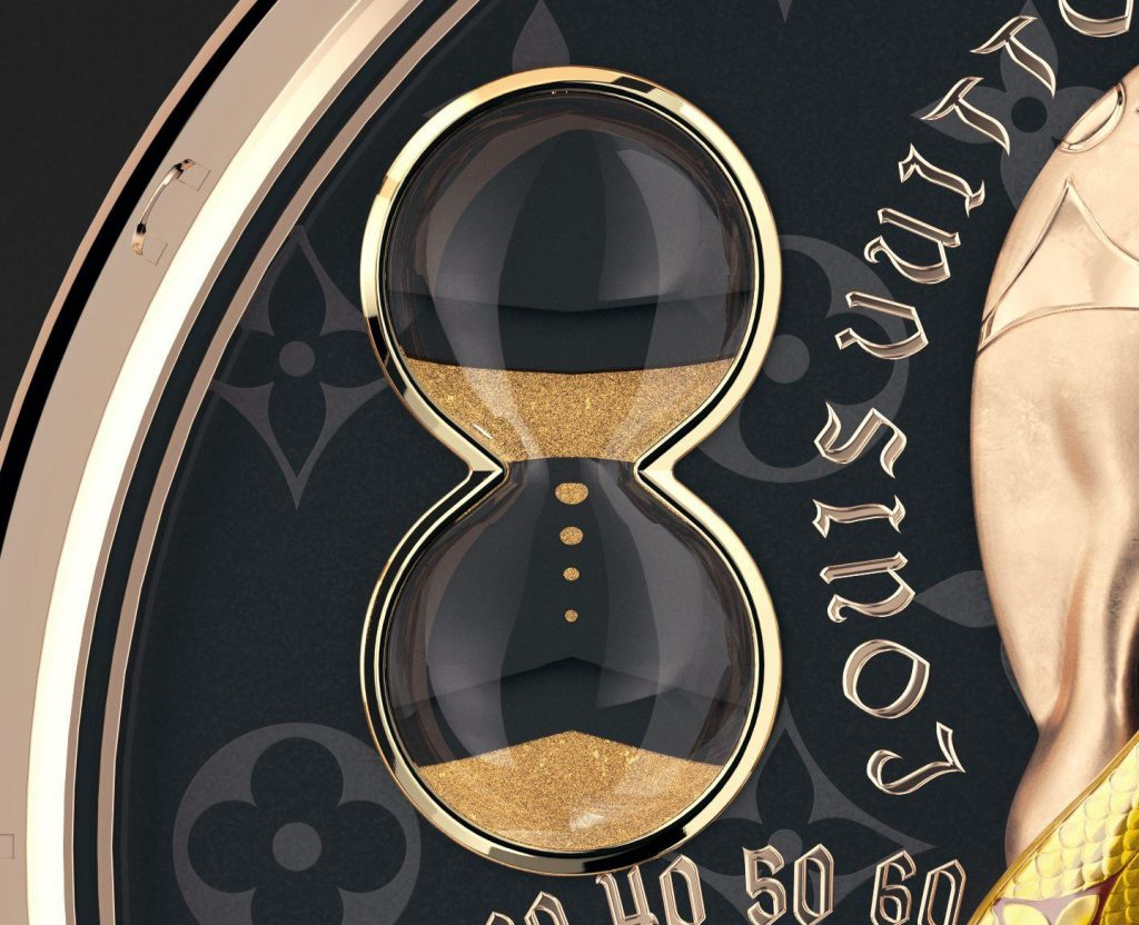 Indicator - hourglass borrowed by Louis Vuitton